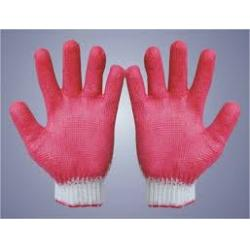 Găng tay len phủ cao su 40g