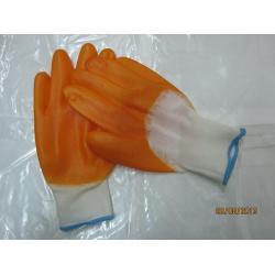 Găng tay len phủ hạt nhựa lòng bàn