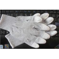 Găng tay PU Móng tay màu nâu