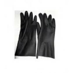 Găng tay cao su chịu axít và kiềm nhẹ