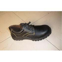 Giày ABC chỉ vàng 3 nút đen-sịn 1ke