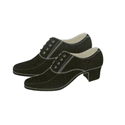 Giày da cán bộ nữ