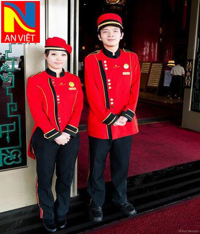 Đồng Phục Bell - doorman AV015