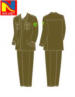 Trang phục công an xã