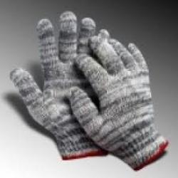 găng tay len sợi 70g màu xám