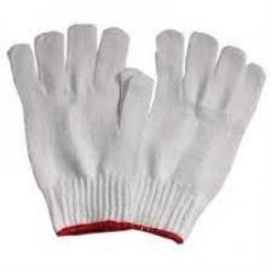 găng tay len sợi 72g màu trắng