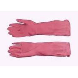 Găng tay cao su trung cầu