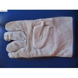 Găng tay da hàn mềm ngắn