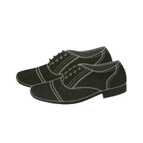 Giày da cán bộ nam